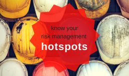 Do you know your risk management hotspots?