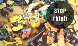 How to stop thieves getting away with your tools